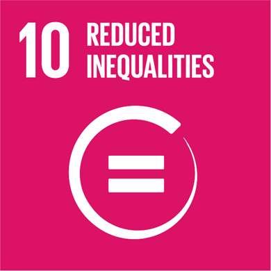Goal 10: Reduce inequality within and among countries Image